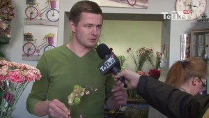 Polski mistrz florystyki