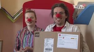 dr clown i klocki Lego
