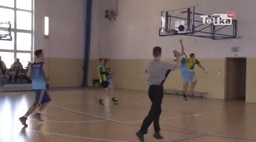 Szkolna liga koszykówki licealistów