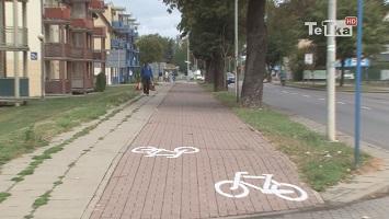 sieć ścieżek rowerowych