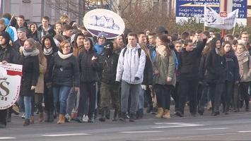 marsz białej wstążki