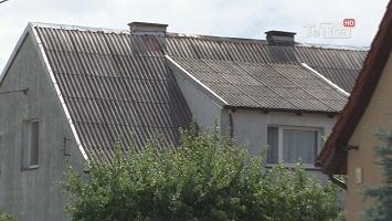 dachy z azbestu