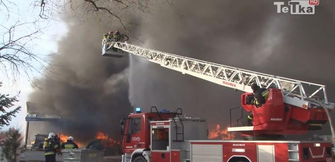 po pożarze w Zajączkowie