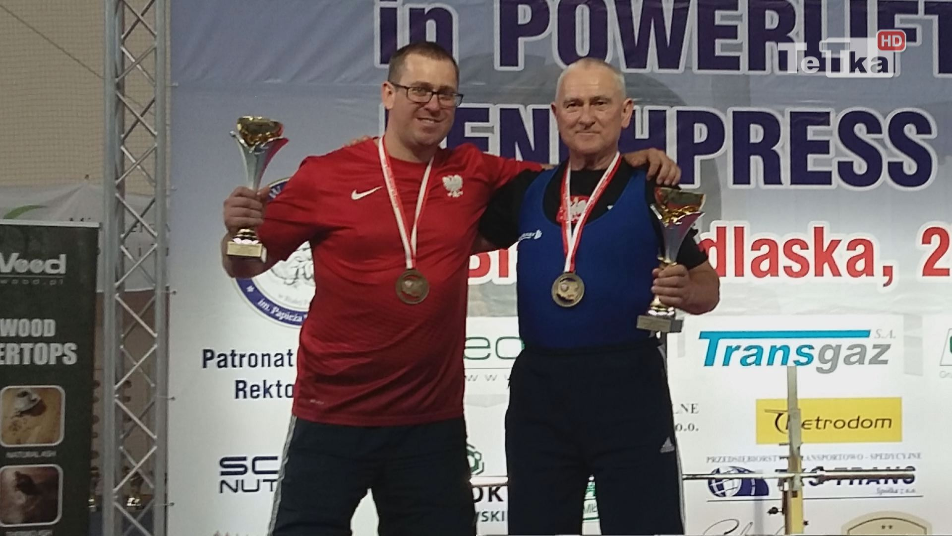 dwa złote medale