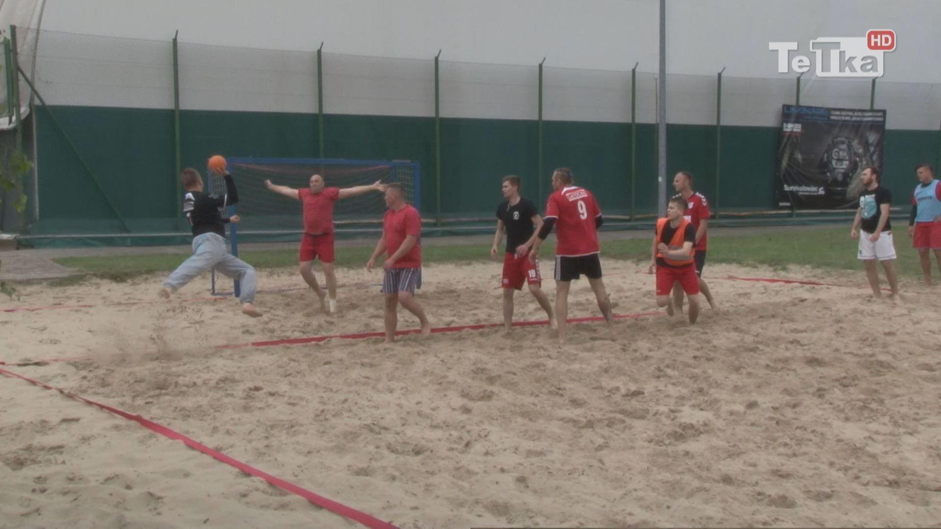 turniej piłki ręcznej plażowej