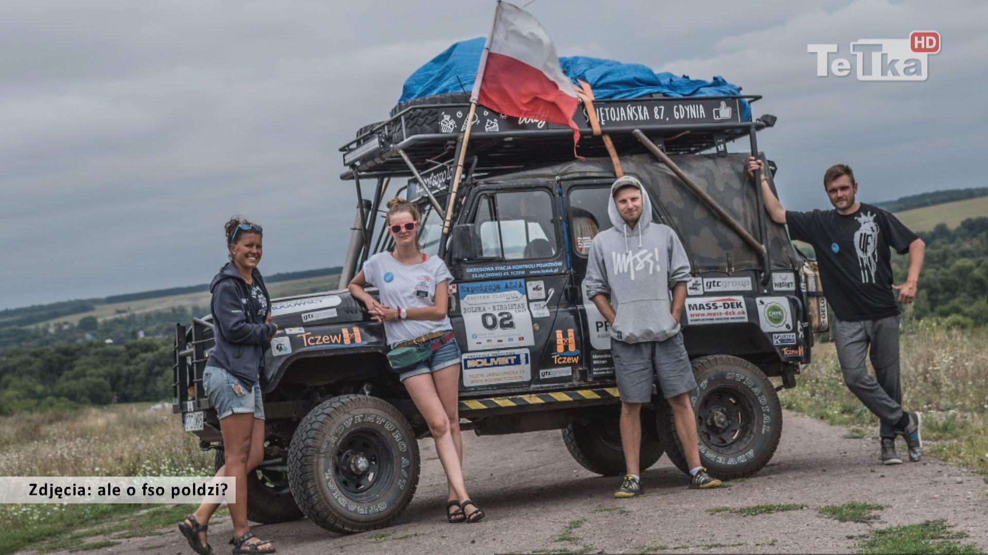 UAZ-em do Kirgistanu