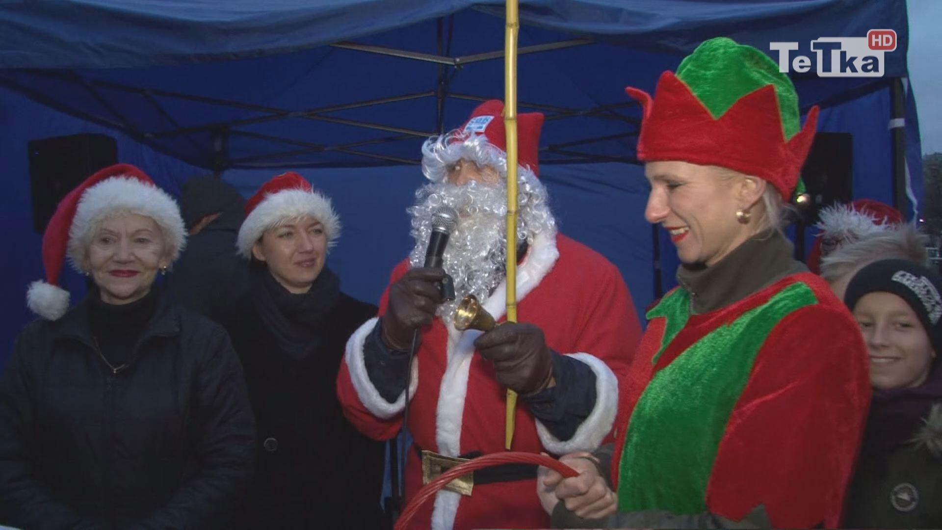 Mikołaj odwiedził dzieci na Suchostrzygach