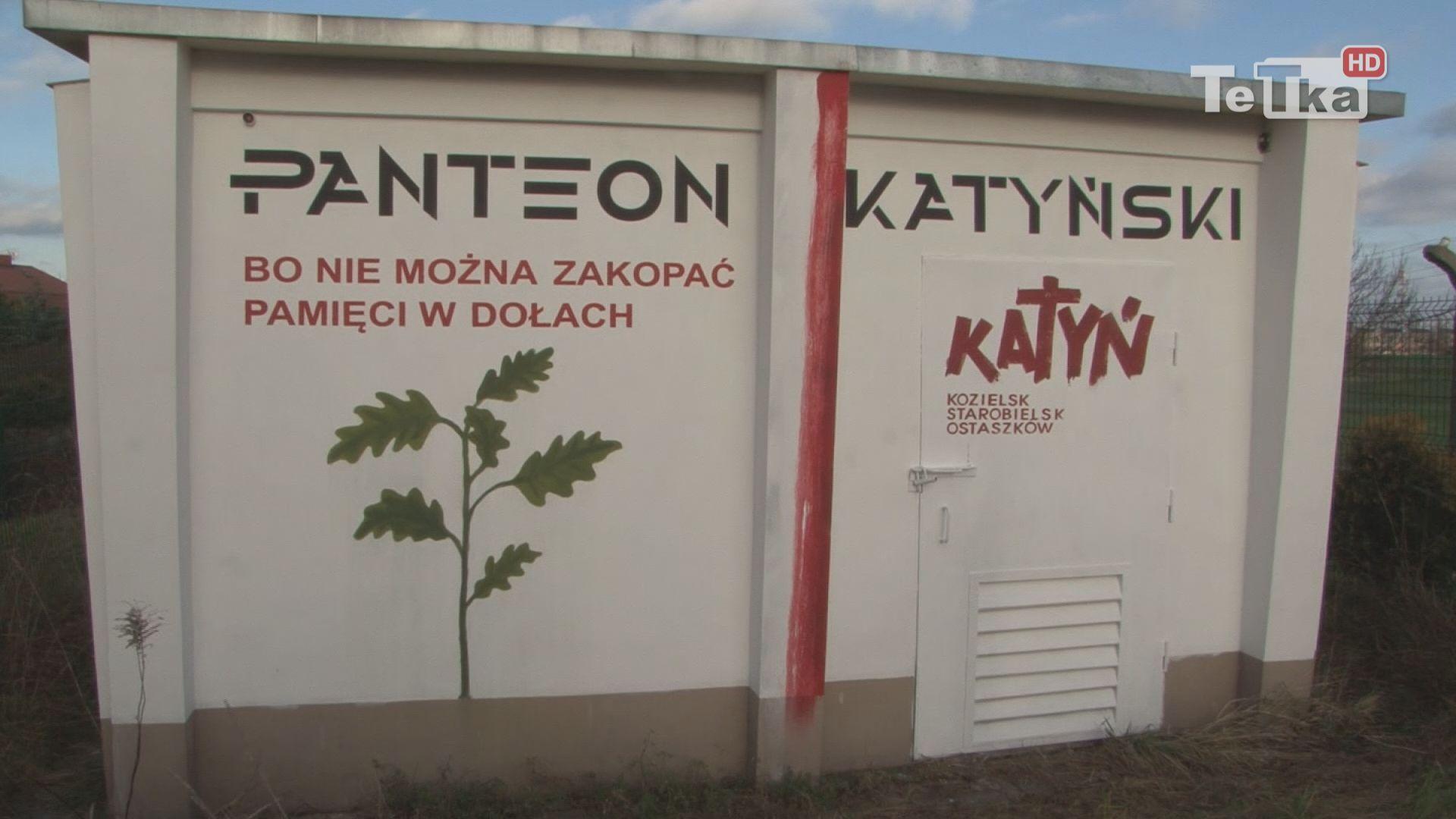 Mural Panteonu Katyńskiego