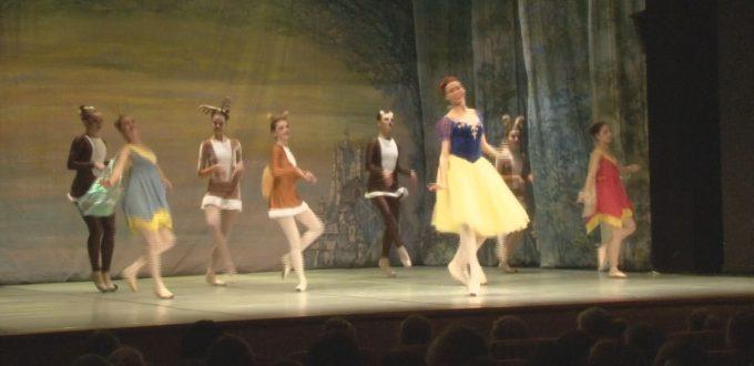 balet śnieżka