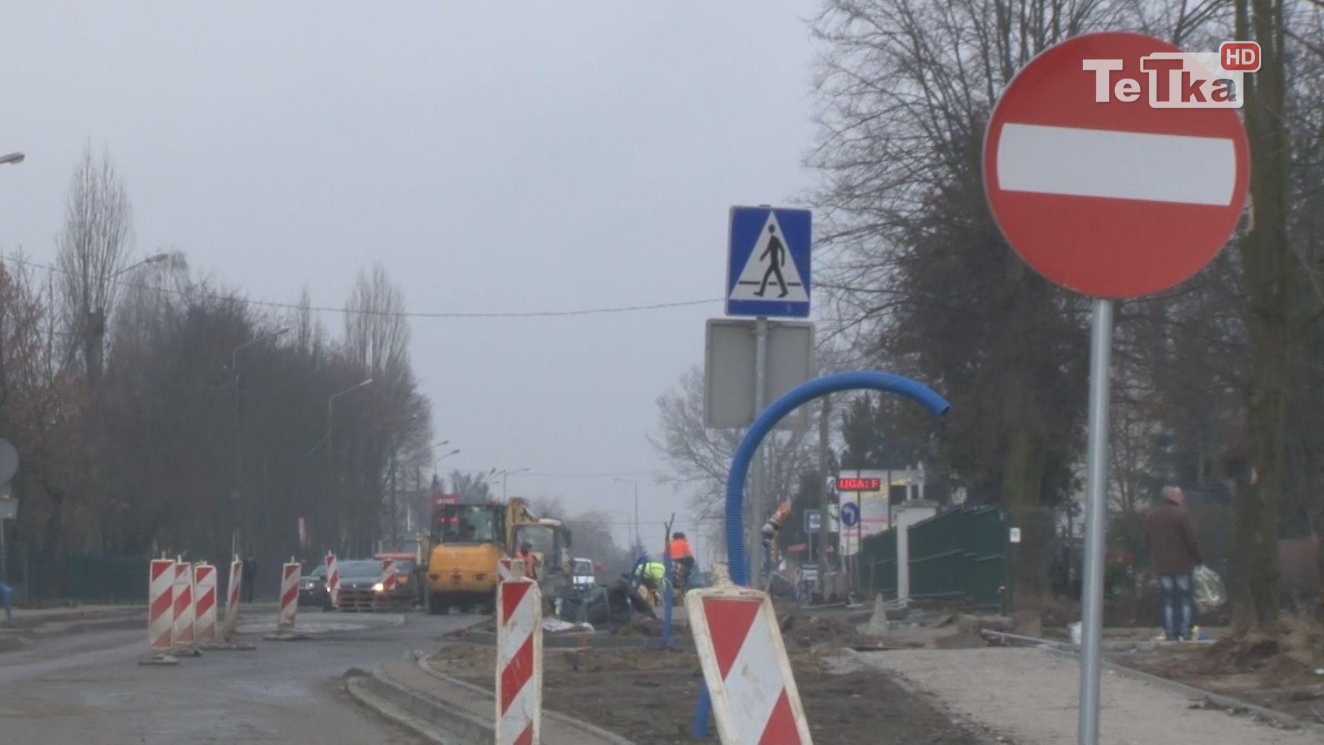 Trwa jeszcze remont ulicy Gdańskiej a miasto oglosiło już przetarg na roboty kolejnego odcinka.