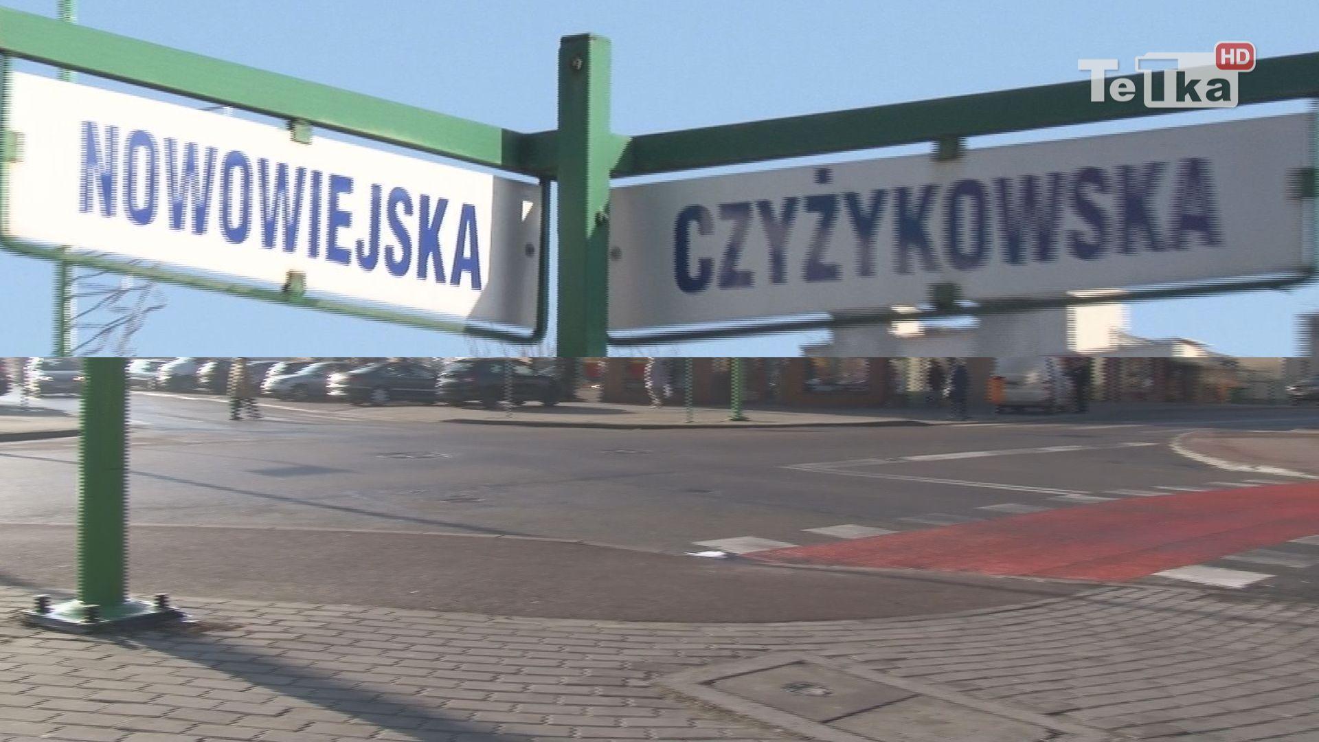 Sygnalizacja świetlna na Nowowiejskiej