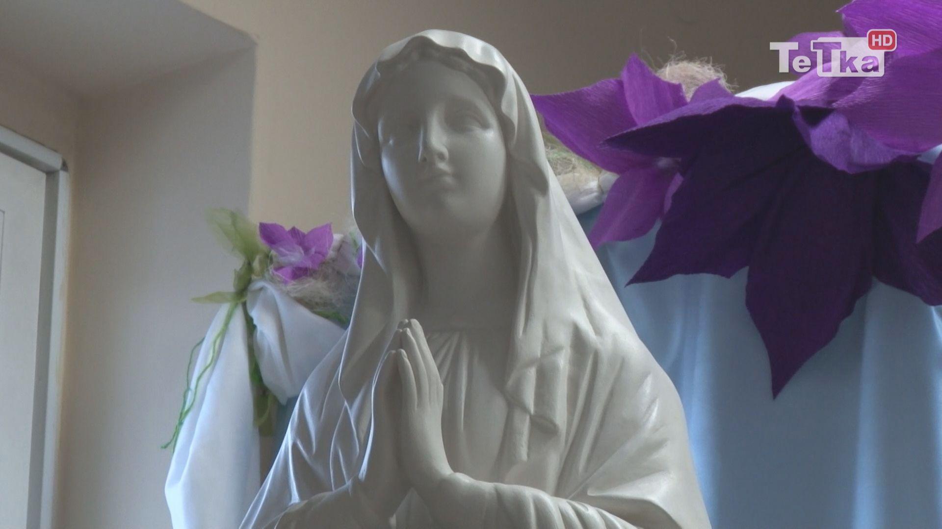 w Hospicjum i Zespole Opiekuńczo-Leczniczym w Tczewie była peregrynacja figury Matki Bożej