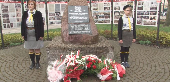 16 kwietnia swoje święto obchodzą saperzy. Tego dnia w Parku Kopernika odbyło się odsłonięcie pamiątkowej tablicy