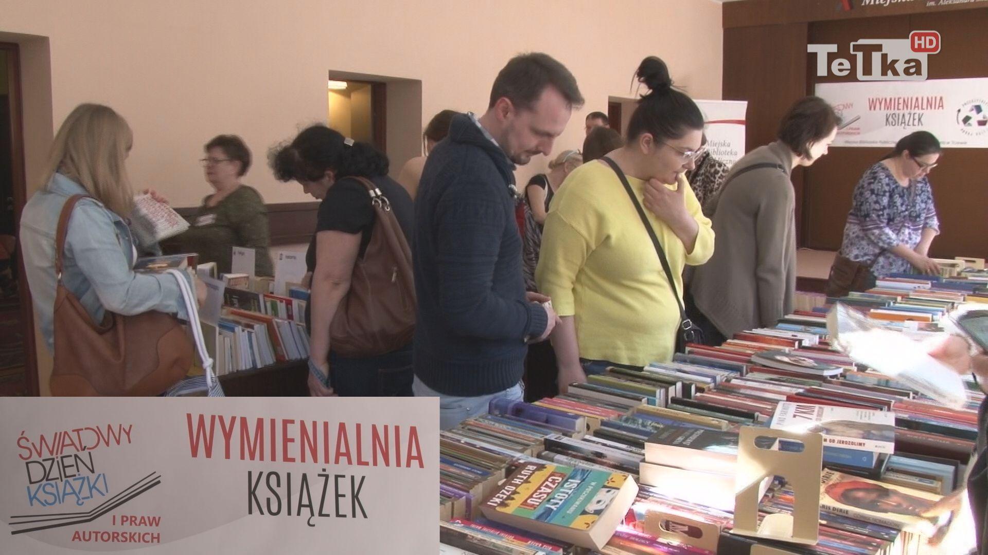 czytelnicy tczewskiej książnicy już po raz szósty mieli możliwość odświeżenia domowych kolekcji podczas Wymienialni książek