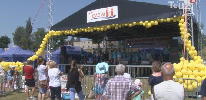 Festyn zorganizowany przez Caritas Diecezji Pelplińskiej cieszył się dużą popularnością