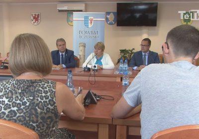 dyrektor pomorskiego NFZ pozytywnie oceniła zmiany i kondycję szpitala powiatowego w Tczewie