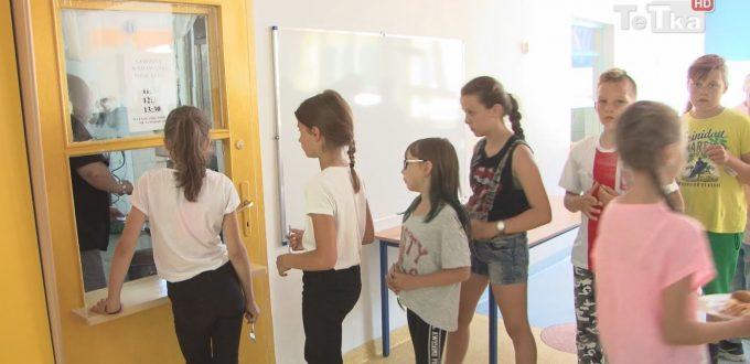 byliśmy w szkole podstawowej nr 11, gdzie trwają półkolonie
