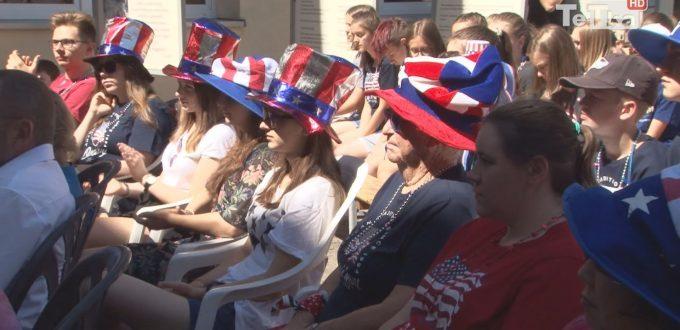 Amerykanie są już w tczewskim ekonomiku na obozie językowym