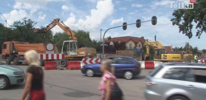 Remont Gdańskiej zaskoczył kierowców