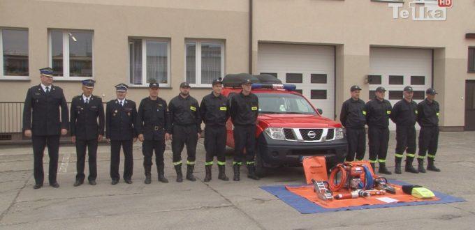 Jednostka Ochotniczej Straży Pożarnej w Tczewie otrzymała nowy sprzęt ratownictwa medycznego i technicznego.