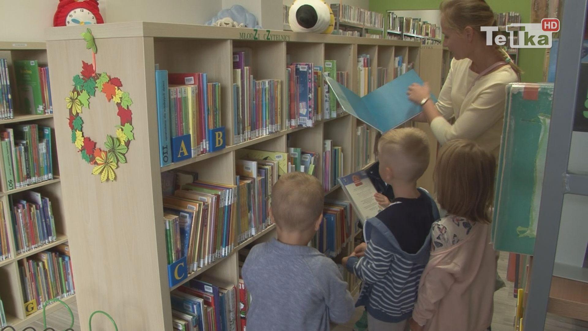 Nowe ksiązki trafia do tczewskich bibliotek