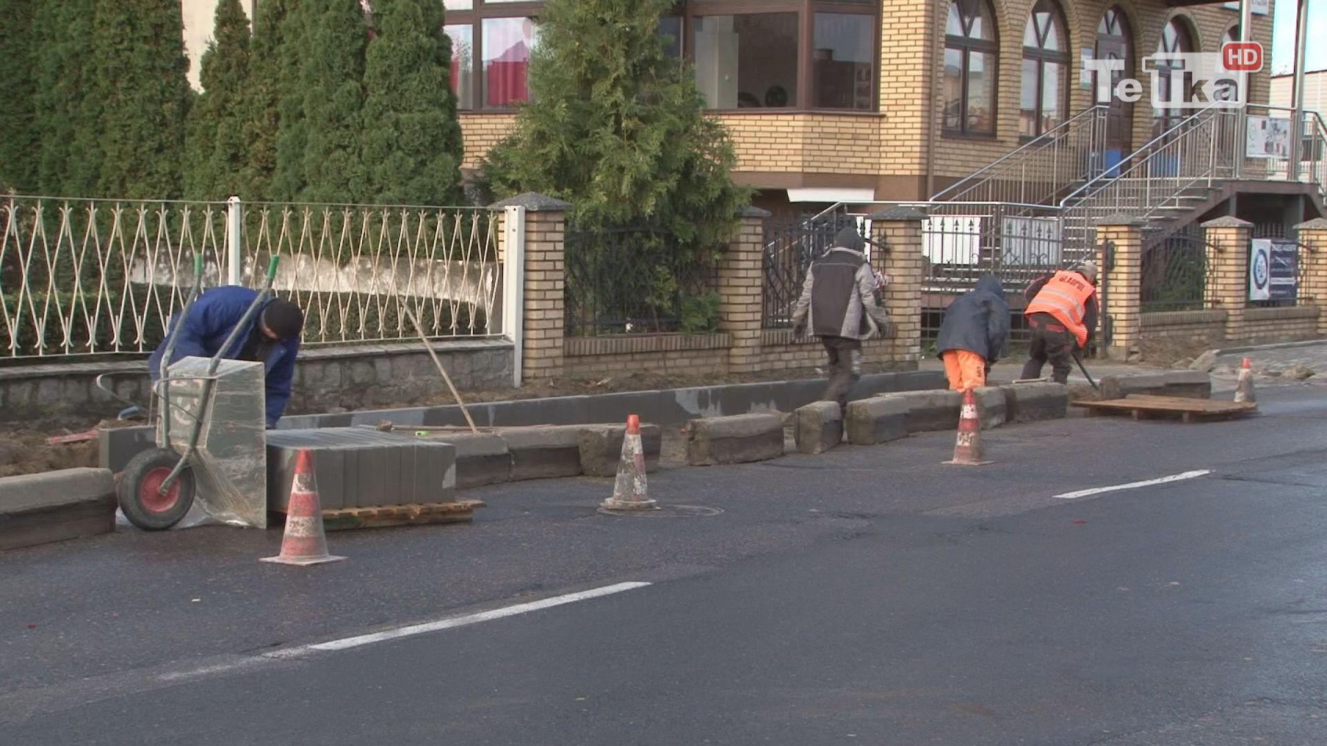chodniki przy Żwirki i Westerplatte są remontowane