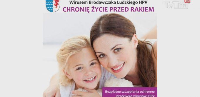 """już wkrótce rozpoczną się szczepienia dwunastoletnich dziewcząt w ramach prozdrowotnej akcji """"Chronię życie przed rakiem"""""""