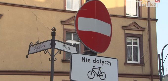 rowerem pod