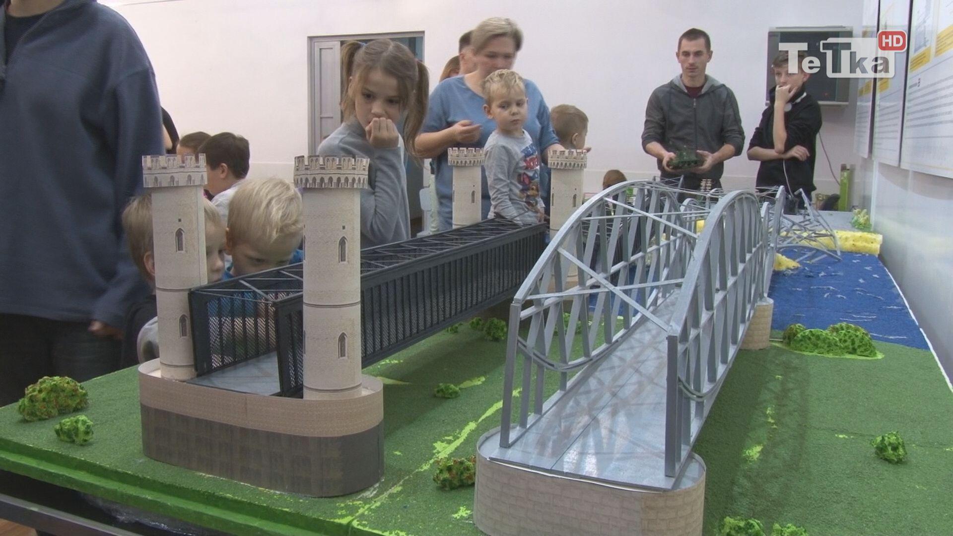 Most Tczewski w miniaturze