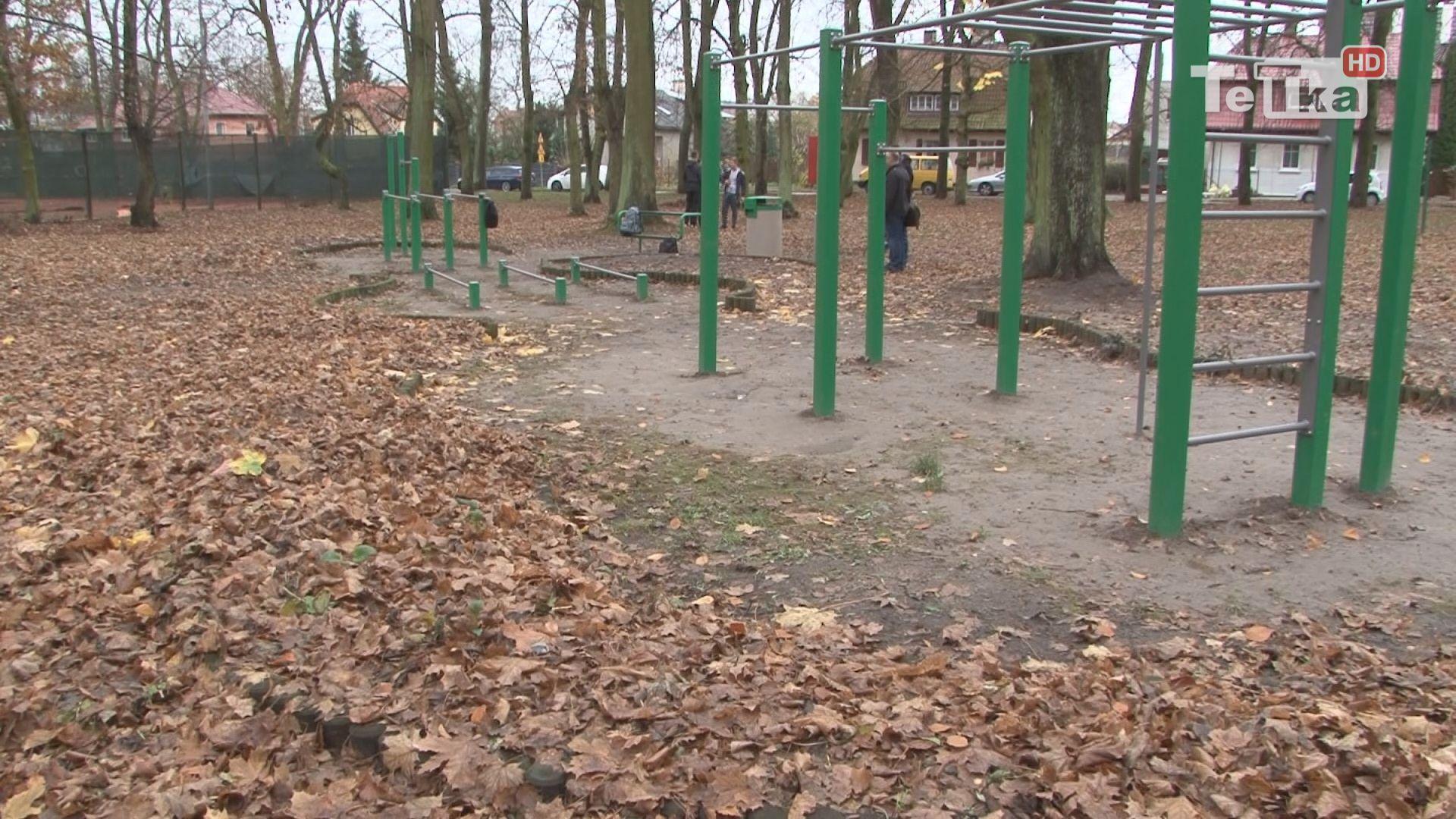 Nowa ścieżka zdrowia w Parku Miejskim