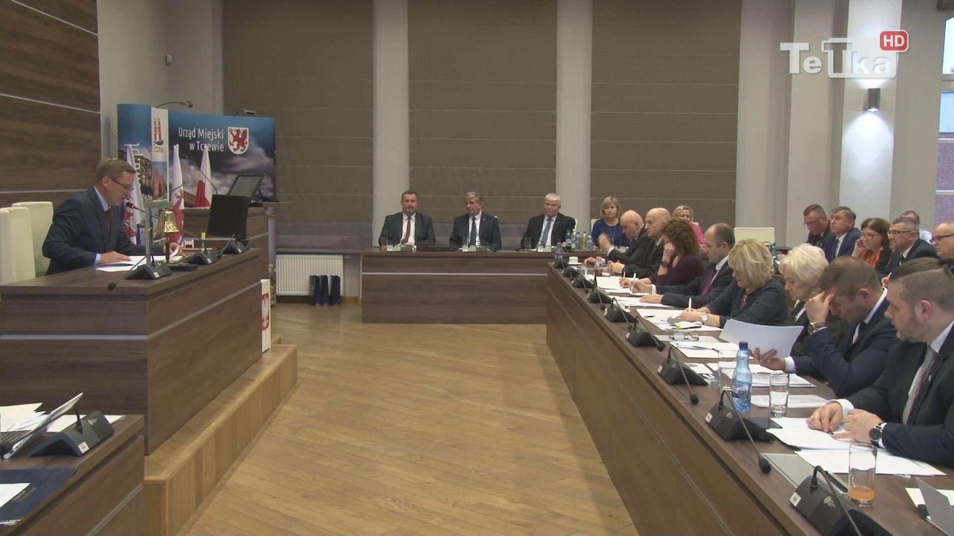 pierwsza sesja rady miasta
