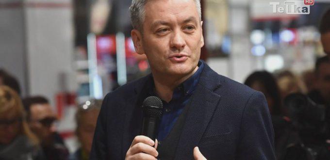 Robert Biedroń rekrutuje