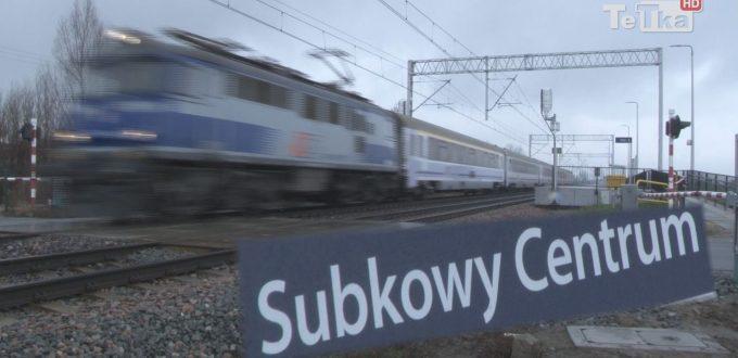 pociągi na stacji Subkowy Centrum