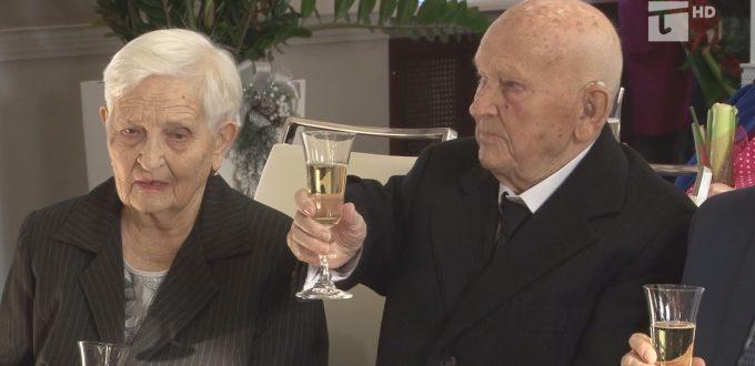Brygida i Marian Arosłanow szczycą się siedemdziesięcioletnim pożyciem małżeńskim