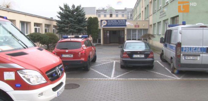 Ewakuowano uczniów dwóch szkół
