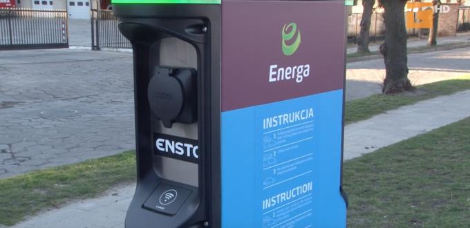 stacja dla aut elektrycznych