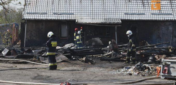 Pożar pozbawił domu dwie rodziny