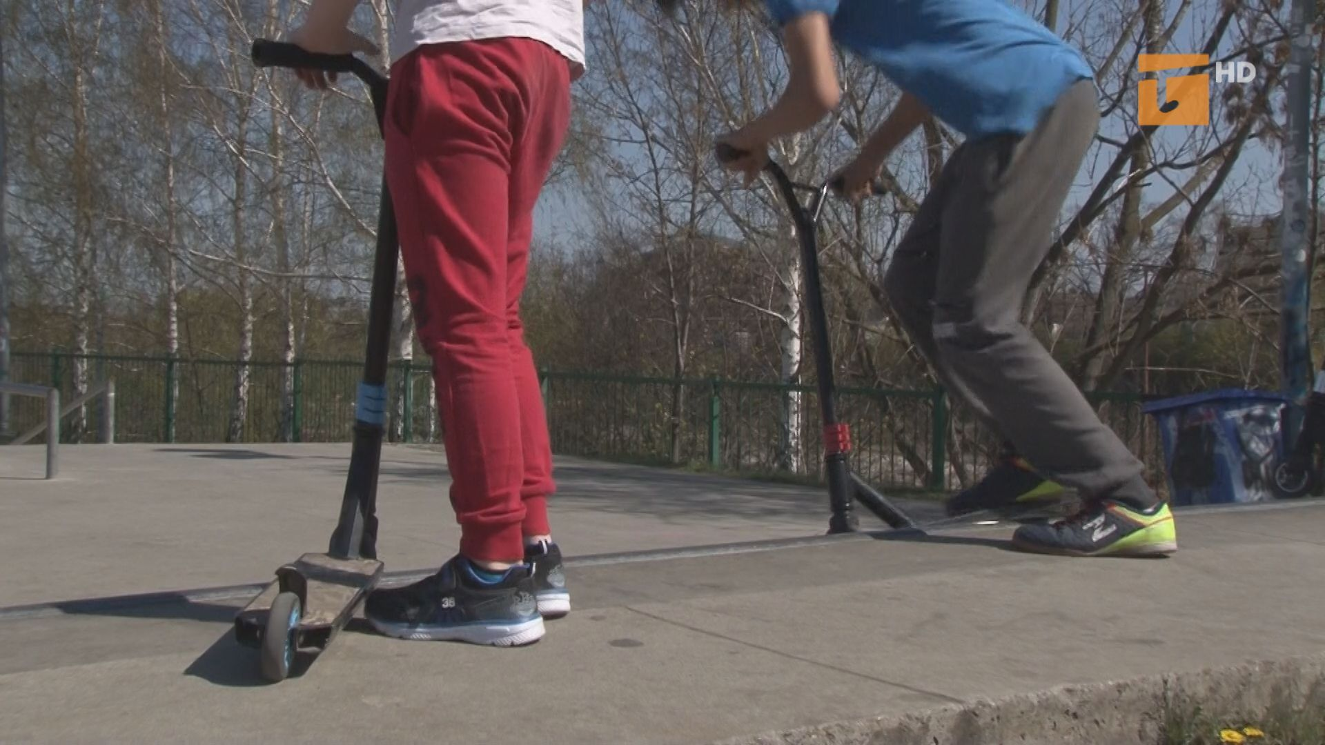 Skatepark kontra Pumptrack