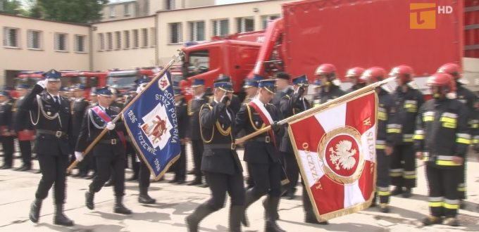 W Tczewie odbyła się uroczystość Dnia Strażaka