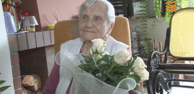 Pani Michalina Terpiłowska z Tczewa obchodziła setne urodziny