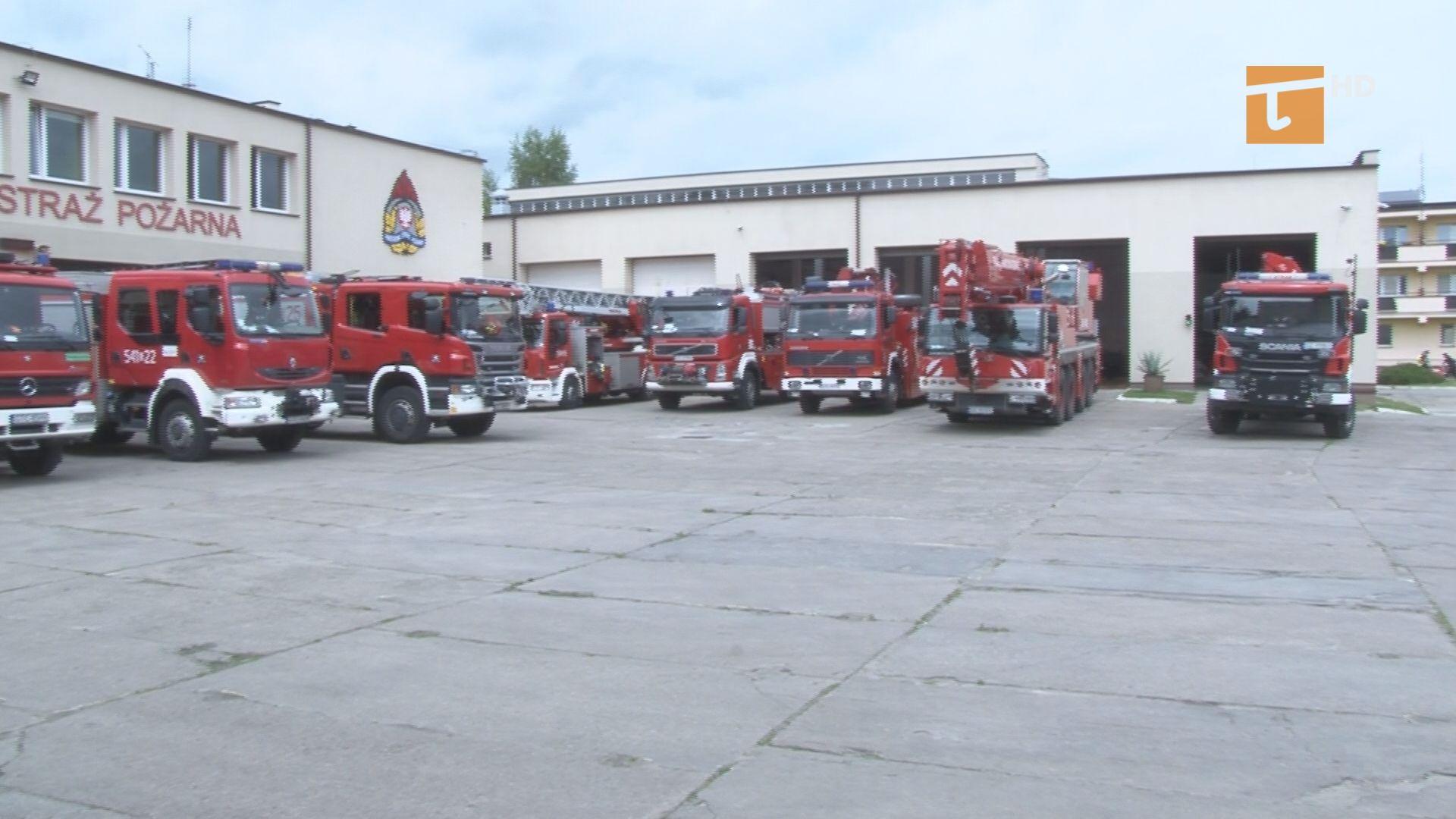 Około półtora miliona złotych kosztować będzie remont placu manewrowego straży pożarnej