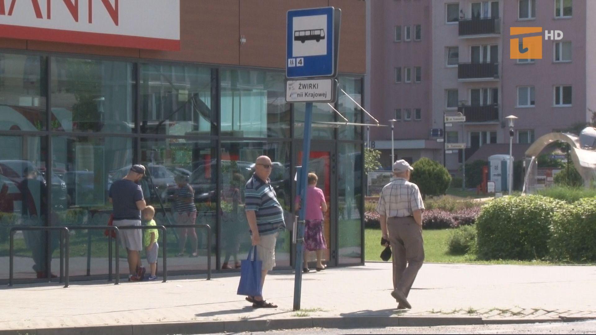 Czy i kiedy powstanie wiata przystankowa na ulicy Żwirki?