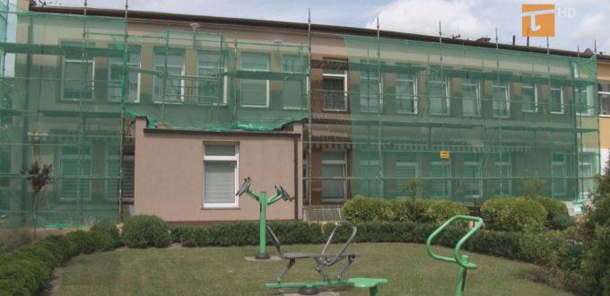 Budynek zespołu opiekuńczego jest termomodernizowany