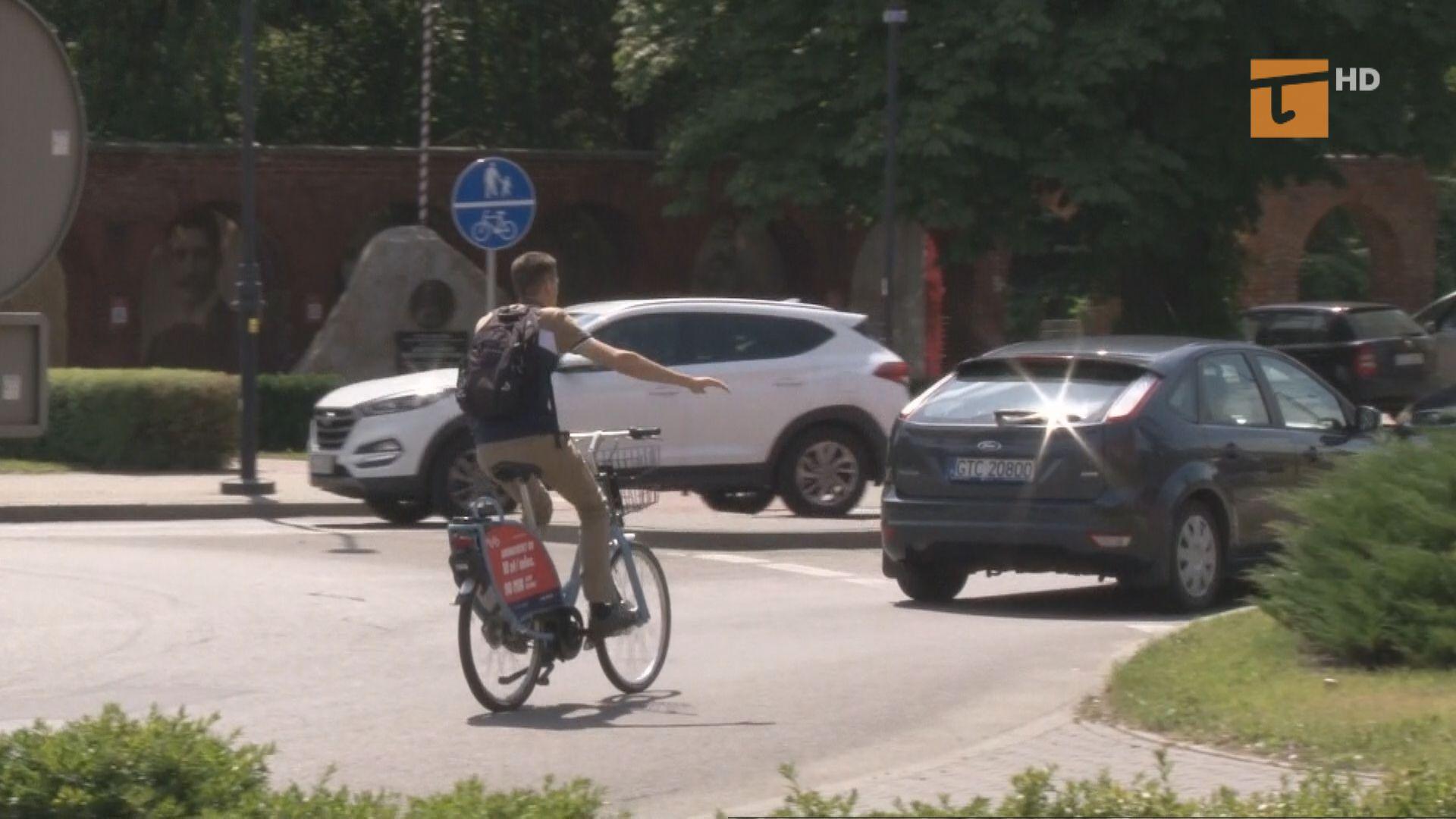 Bezpiecznie w mieście na rowerze