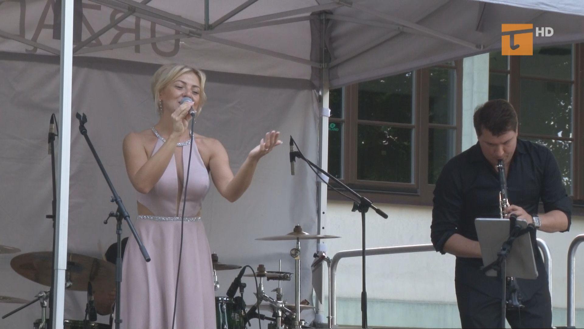W parku za Centrum Kultury i Sztuki rozbrzmiały piosenki Anny German