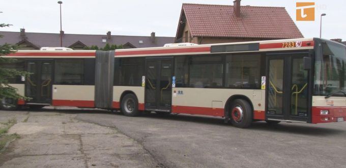 Po Tczewie jeździ autobus przegubowy
