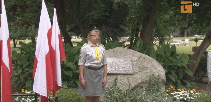 Tczewianie oddali hołd powstańcom warszawskim