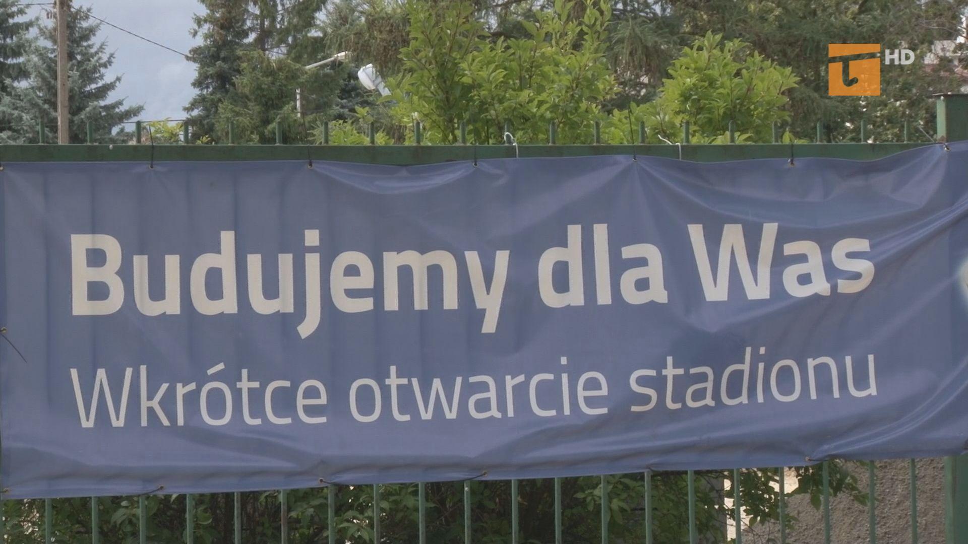 Przebudowa stadionu bez zakłóceń