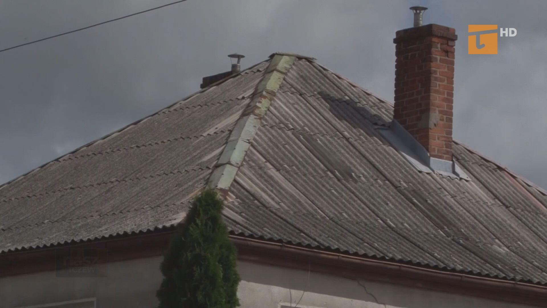Do ratusza wpłynęły wnioski o dotację na usuwanie azbestu