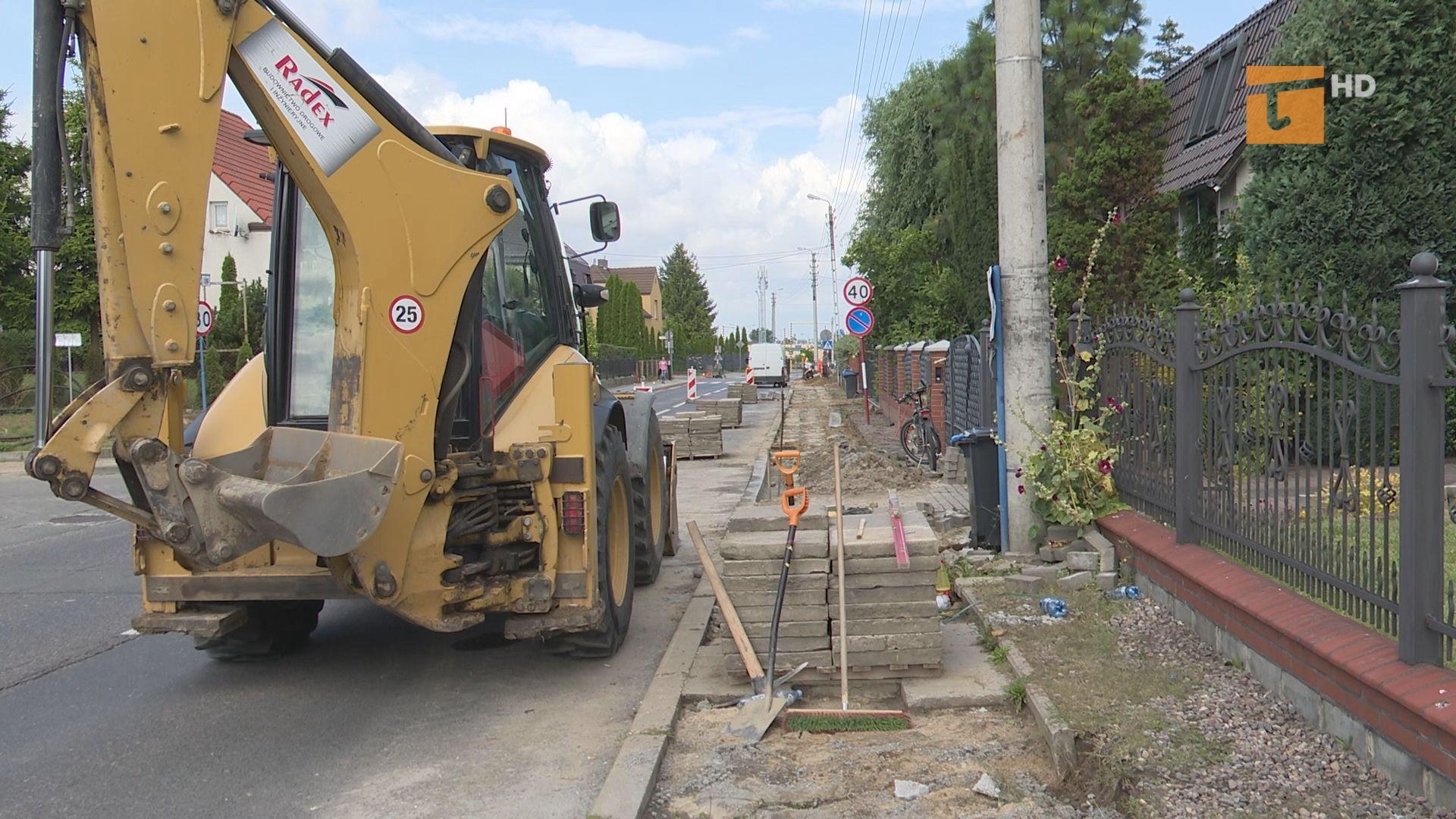 Piesi korzystający z ulicy Żwirki doczekają się nowego chodnika
